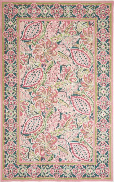 Pinwheel Pink Vera Bradley Rug From Beyond Bedding Usa In