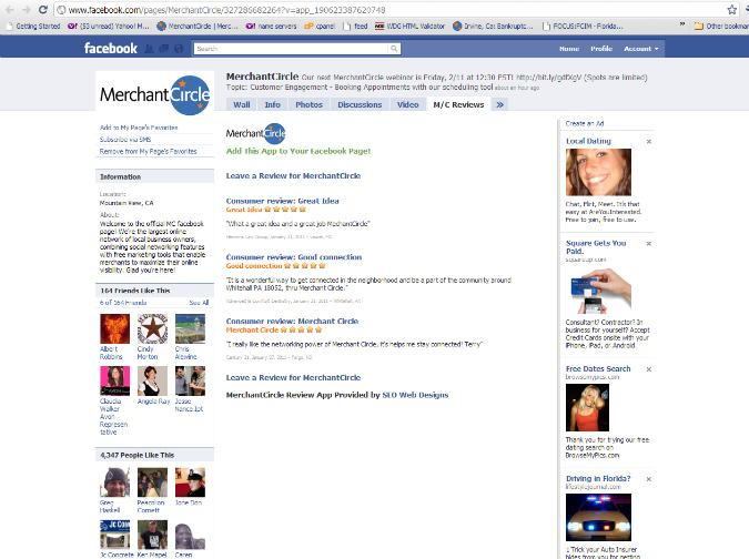 MechantCircle-Facebook-Apps by SEO Web Designs