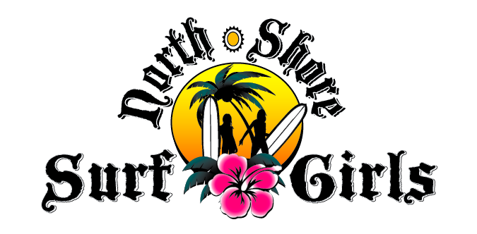 Surf School Logo Surf Girls Surf School