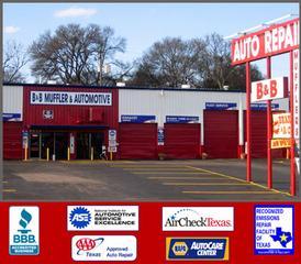 B&B Muffler And Automotive Service Center - Austin, TX