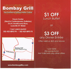 Bombay Grill - Louisville, KY