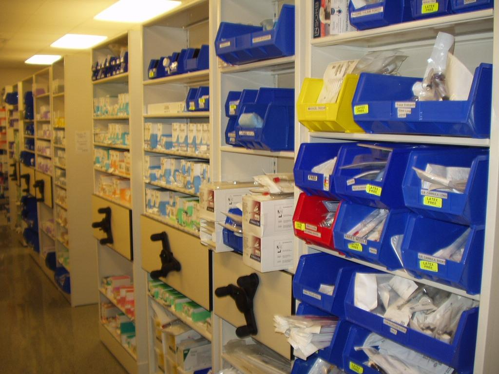Surgical Supply Storage System By Midwest Storage Solutions