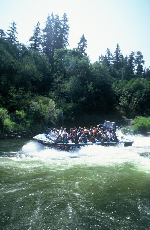 by Rogue River Jet Boat Tours Mail Boat Hydro Jet Trips