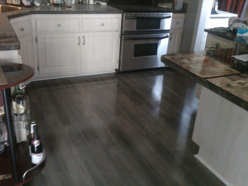 Laminate Floor Kitchen From North Star Carpet Amp Flooring