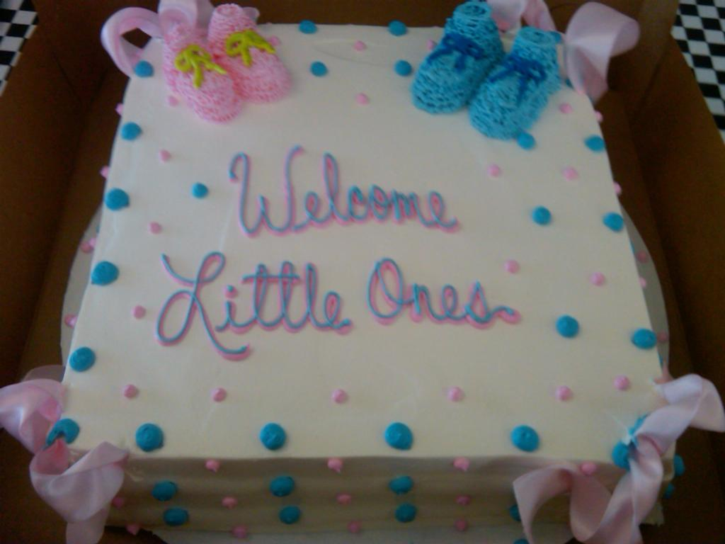 _Rum_Cake_Twins_PolkaDots_Baby_Shower_Cake.jpg by Cathy's Rum Cake ...