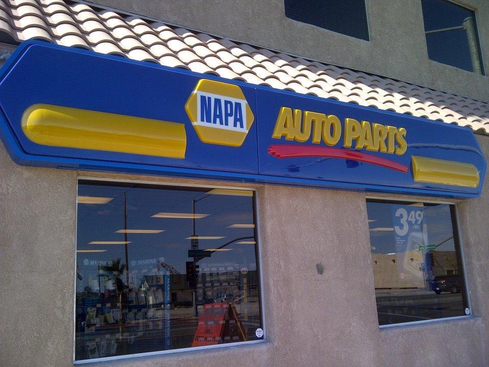 Store front from napa auto parts in parker az 85344 auto parts