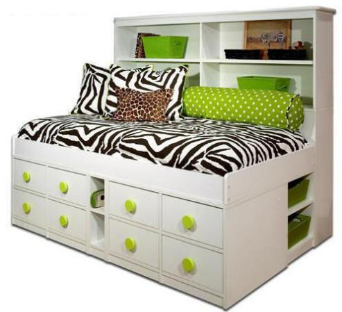 Colettte Big Bookcase Bed At Totally Kids Fun Furniture