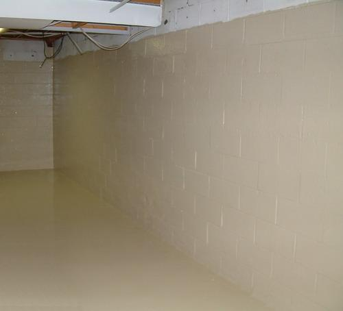 Permanently Waterproofing A Leaking Basement In Columbus Oh: Sani-Tred DIY Basement Waterproofing Repair Products - Plymouth IN 46563