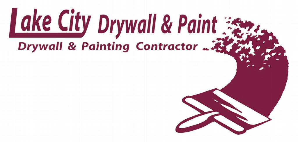 Logo  3.80in x 1.75in at 300 Dpi by Lake City Drywall & Paint