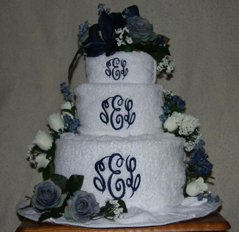 Bridal Towel Cake Ideas 70372 | WEDDING TOWEL CAKE 300 From