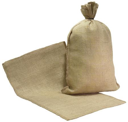 burlap potato bag