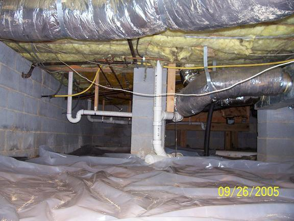 By rooterman for Crawl space plumbing