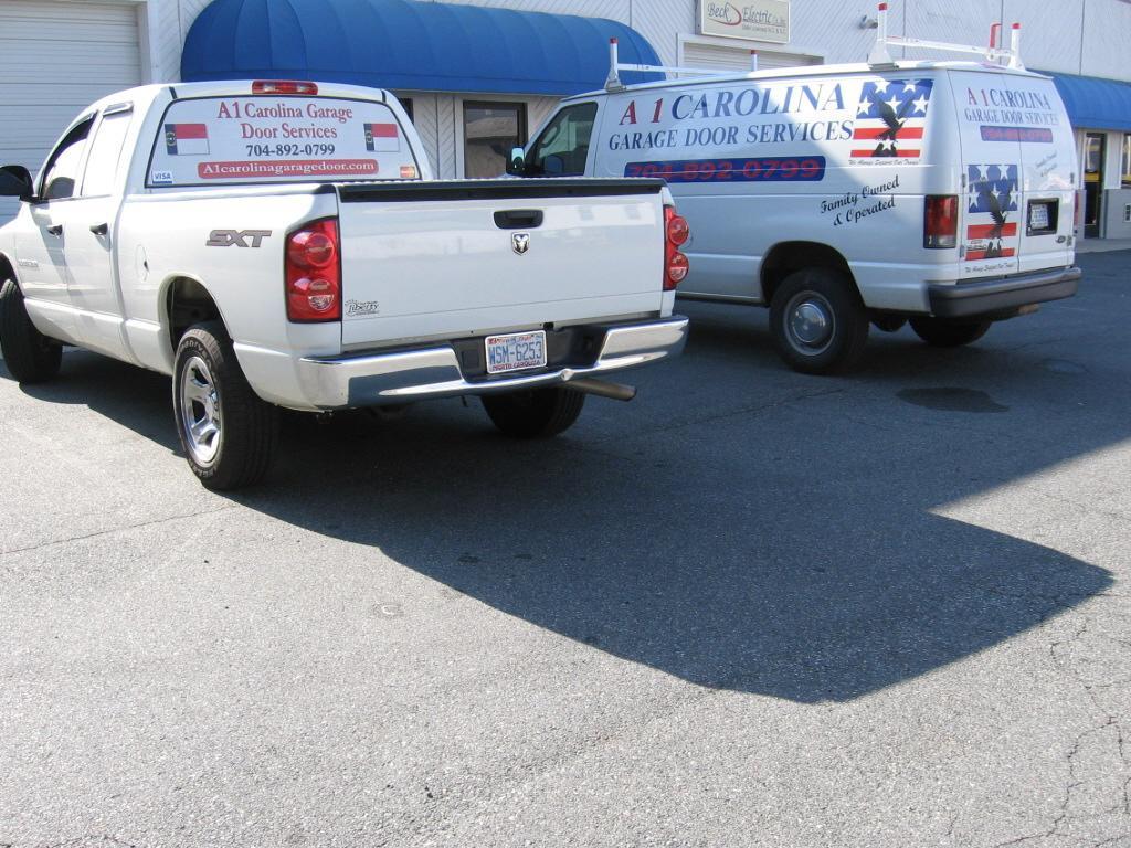 A1 carolina garage door service cornelius nc 28031 704 for A 1 garage door service