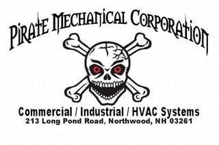 Pirate Mechanical Corp - Northwood, NH