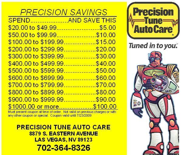 Precision tune coupons goldsboro nc