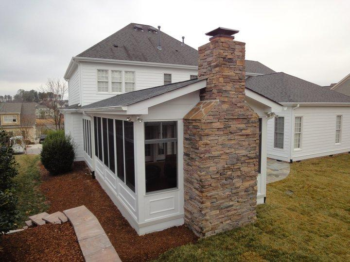 Cary Screen Porch From Raleigh Sunrooms Three 3 Season