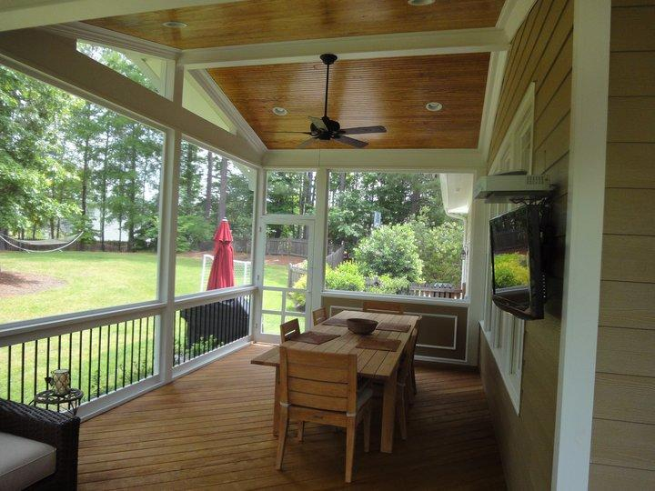 Screen Porch Electrical Options From Raleigh Sunrooms