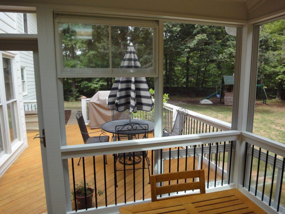 Eze Breeze Windows Raleigh From Raleigh Sunrooms  Three 3 Season Rooms  E