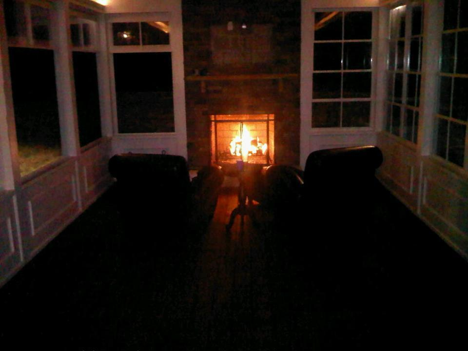 Screen Porch Fireplace From Raleigh Sunrooms Three 3