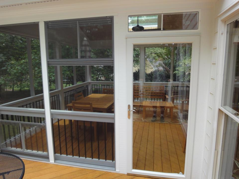 Pella Select Storm Door From Raleigh Sunrooms Three 3