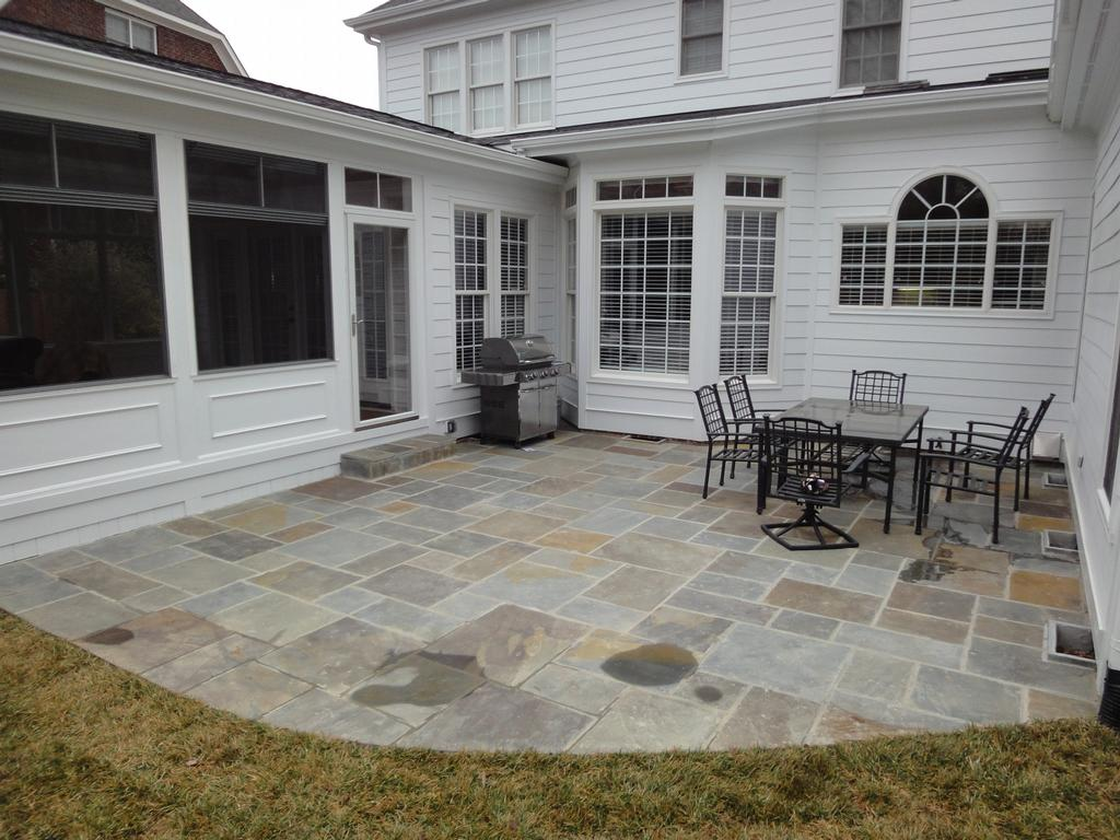 Blue Stone Patio Cary From Cary Deck Amp Screen Porch