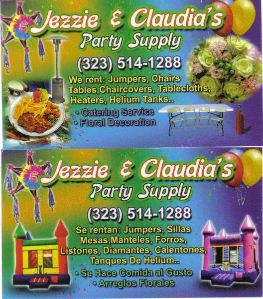 By Jezzie Claudia S Party Supply Jumpers And Als
