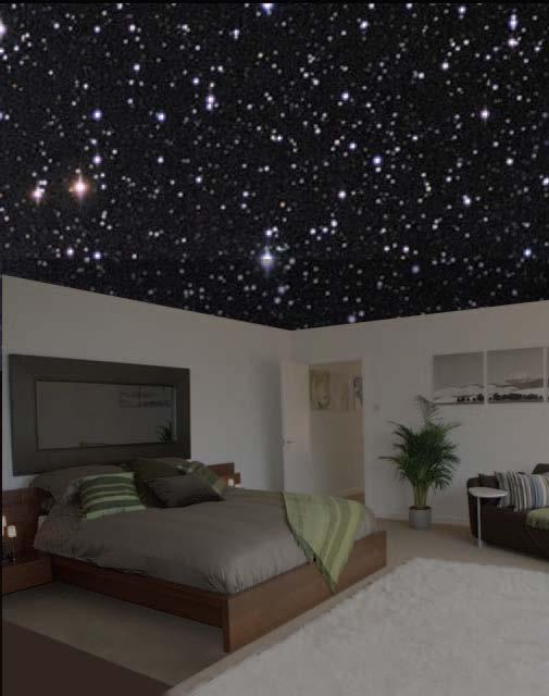Ceiling Lights That Look Like Stars : Fiber optic ceiling on ceilings home theatre