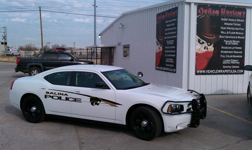 Salina Police Car from Outlaw Kustomz Tint and