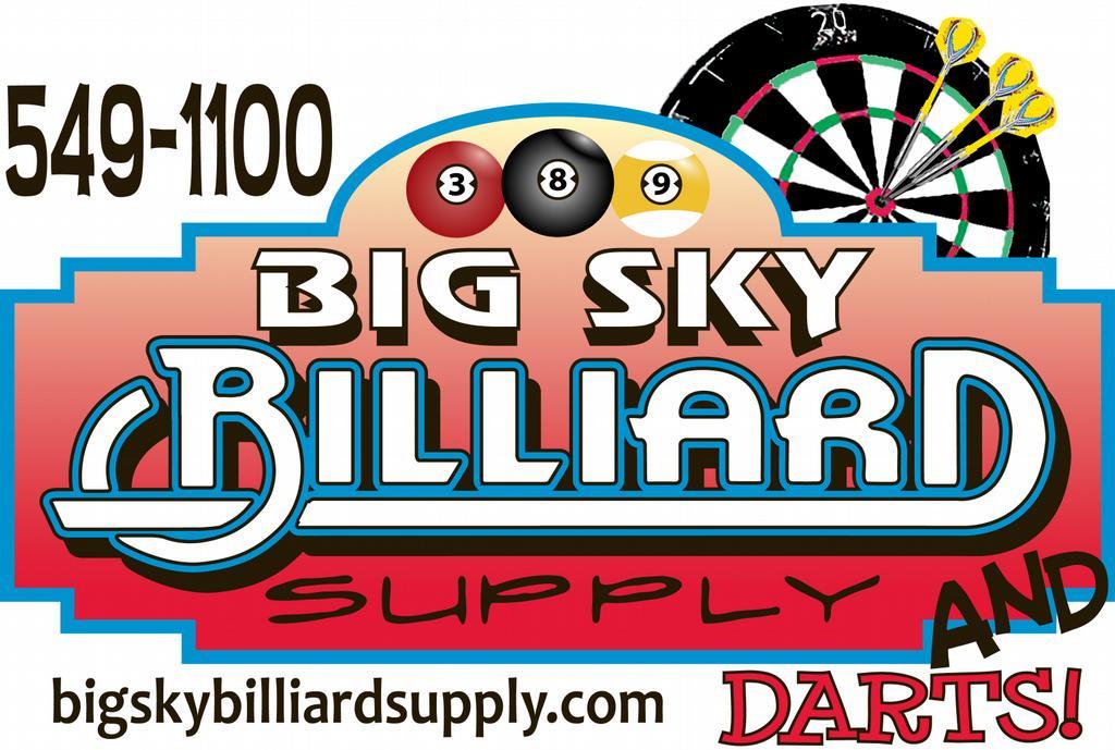 Big Sky Billiard Supply Missoula Mt 59804 406 549 1100