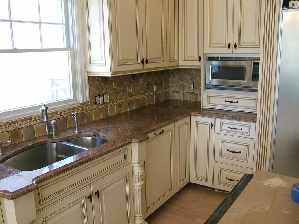 Distressed White Kitchen From The Premaza Group Llc In Belmar Nj 07719