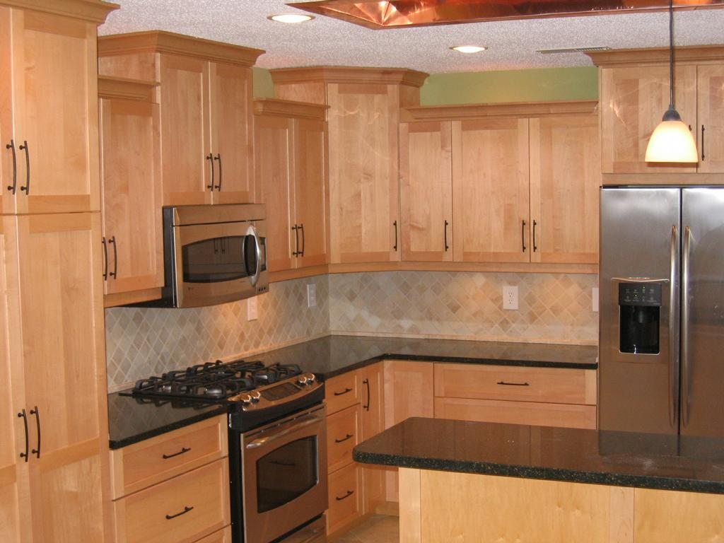 J Trent & Associates - Cary NC 27511 | 919-380-0670 on Maple Cabinets With Black Countertops  id=66970