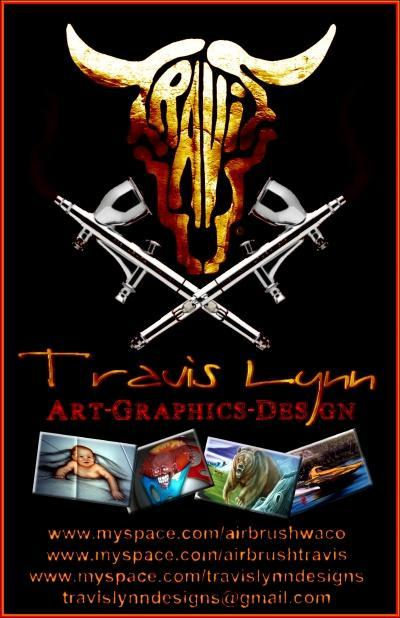 flyer by AIRBRUSH WACO