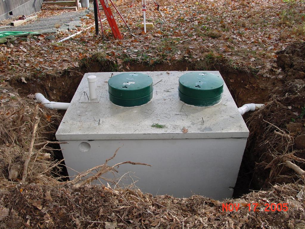 Septic tank replacement from Roger Weeks Excavating in Hawley PA