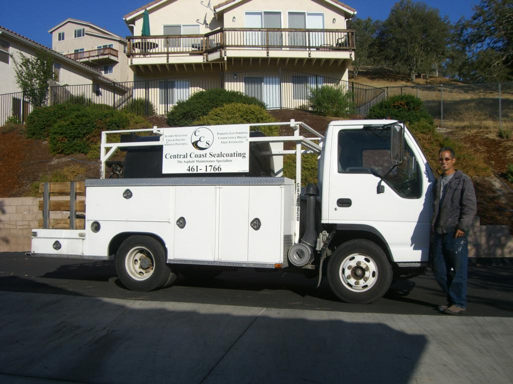 Central Coast Sealcoating - Templeton CA 93465 : 805-461-1766