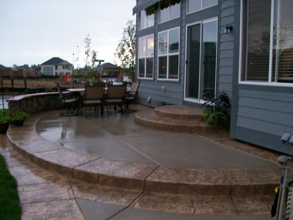 amazing concrete patio by j 39 s custom concrete patios