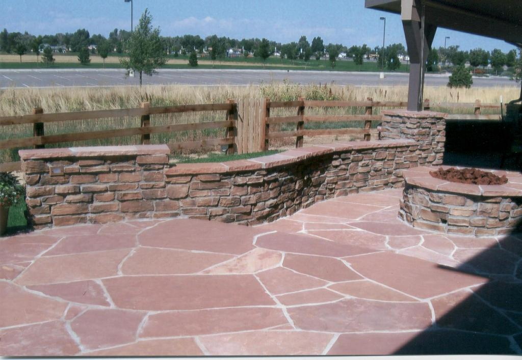 Beautiful Flagstone Patio From Js Denver Custom