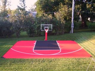 Save 20 on fence awnings basketball courts free for Basketball court cost estimate