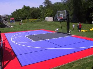 Save 20 on fence awnings basketball court free for Basketball court cost estimate