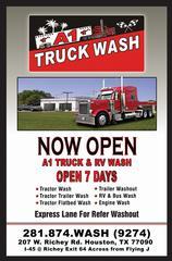 A1 Truck Wash & Lube - Houston, TX