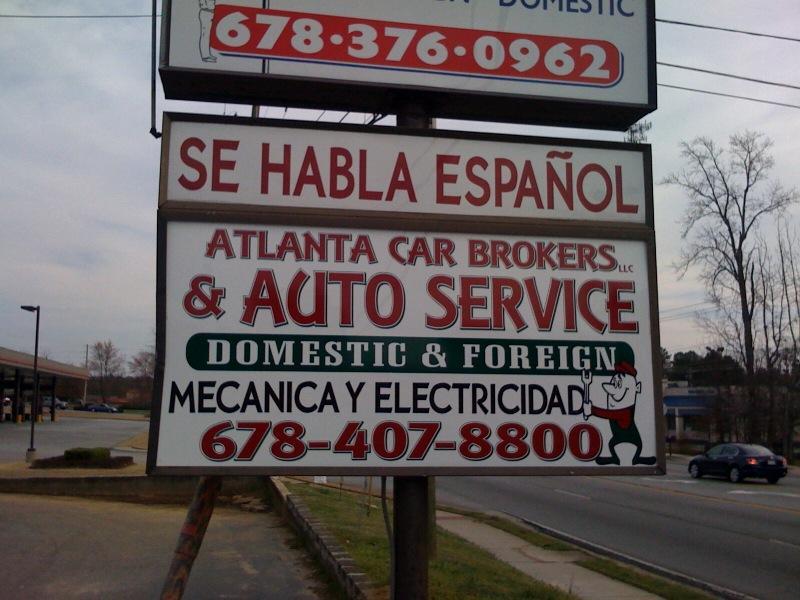 Auto broker in atlanta