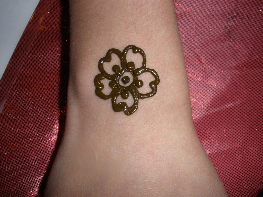 basic flower henna designs makedescom
