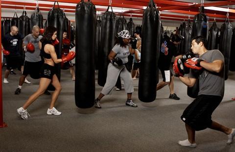 Hasil gambar untuk boxing girl gym