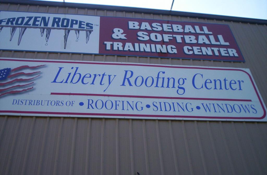 Liberty Building Sign