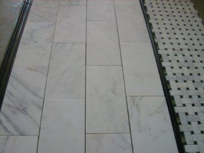 800sf Carrara 6x12 Subway Marble Tile From The Builder Depot In