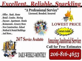 seattle janitorial service from Janitorial Services Seattle ...