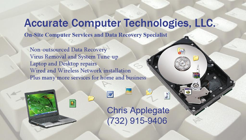 Accurate Computer Technologies (business card).jpg from Closed in ...
