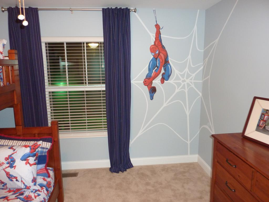 Amazing Spider Man Room Theme Boy 1024 X 768 88 KB Jpeg