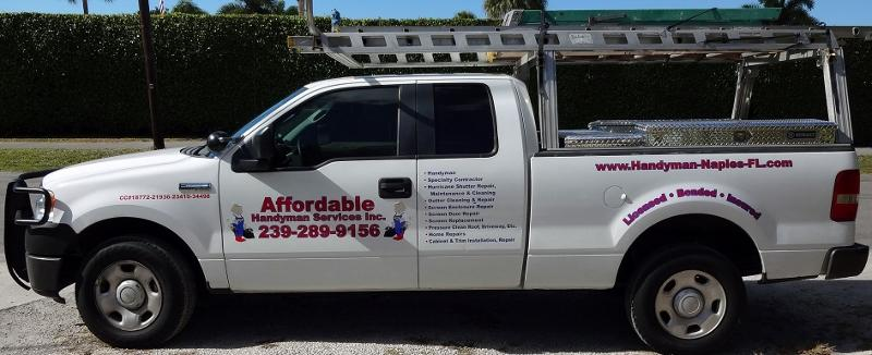 Affordable Handyman Services Inc Naples Fl 34112 239