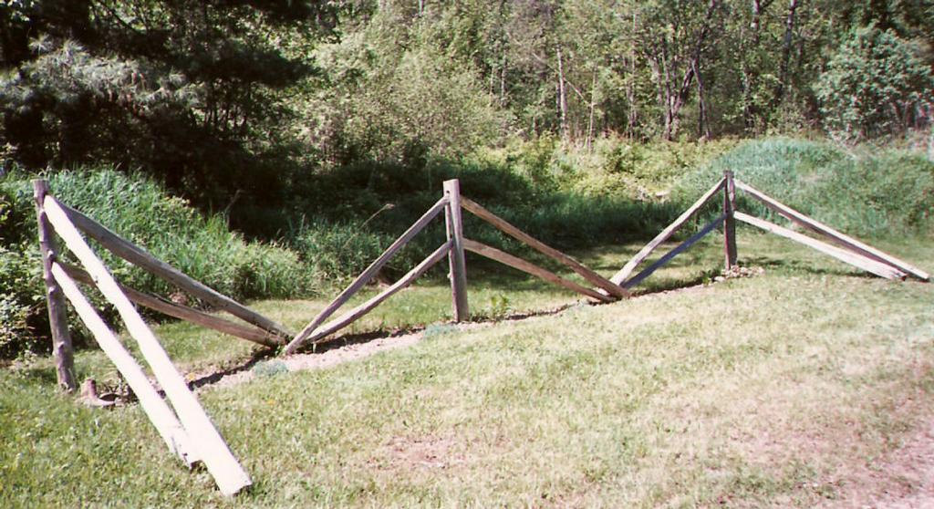 How to Install a Split Rail Fence | eHow.com