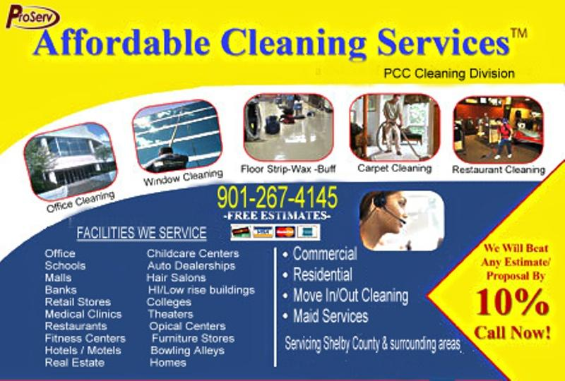 free commercial cleaning business applications